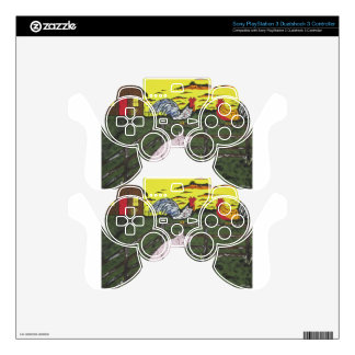 The Farmers Clock Skins For PS3 Controllers