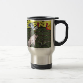 The Farmers Clock Travel Mug