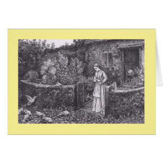 The Farmer's Daughter - Fildes Card