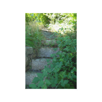 The Farmers Stairs To The Path Of Wonders Canvas Print