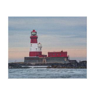The Farne Island Lighthouse canvas