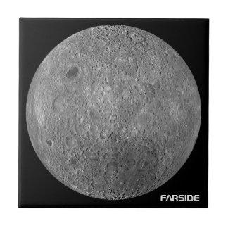 The Farside Of The Moon Ceramic Tile