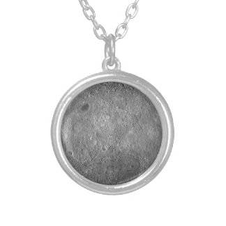 The Farside Of The Moon Round Pendant Necklace