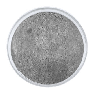 The Farside Of The Moon Silver Finish Lapel Pin