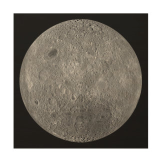 The Farside Of The Moon Wood Wall Art