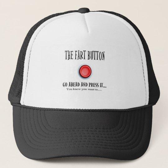 THE FART BUTTON TRUCKER HAT