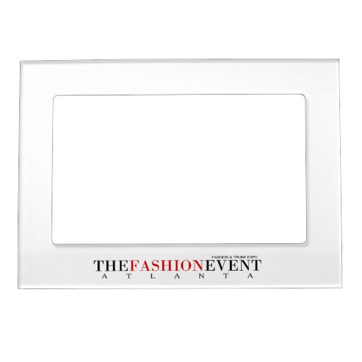 The Fashion Event Frame Photo Frame Magnets