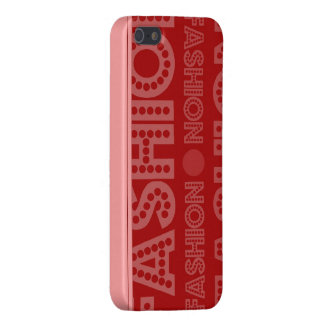 The Fashion Pink and Red iPhone 5 Case