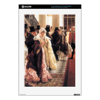 The fashionable woman by James Tissot Skins For PS3 Console