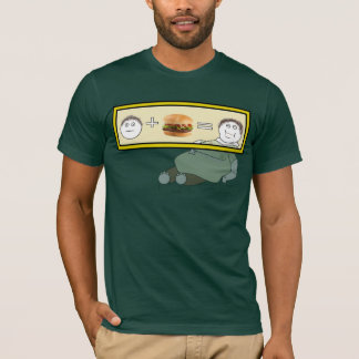 The fast food equasion - Customized T-Shirt