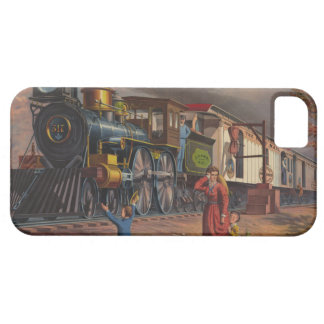 The Fast Mail Postal Service Train From 1875 iPhone 5 Case