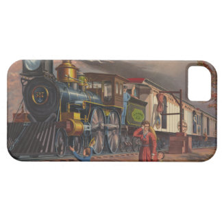 The Fast Mail Postal Service Train From 1875 iPhone 5 Covers