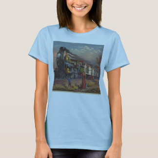 The Fast Mail Postal Service Train From 1875 T-Shirt