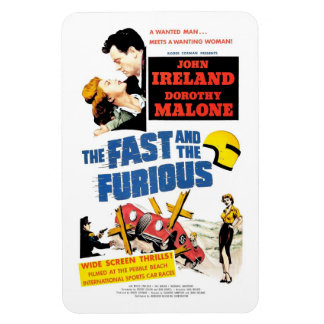The Fast & The Furious (1955)  Magnet