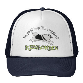 The Fast The Furriest Keeshonden Mesh Hats