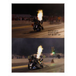 """THE FASTEST DRAG BIKE ON THE PLANET"" 250.97 MPH PRINT"