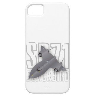The fastest supersonic spy plane: SR-71 Blackbird iPhone 5 Cover