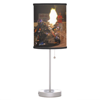"""The Fastest Top Fuel Drag Bike"" Table Lamp"