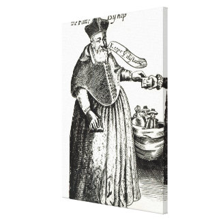 The Fat Bishop Canvas Print