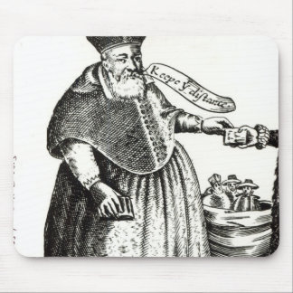The Fat Bishop Mouse Pad
