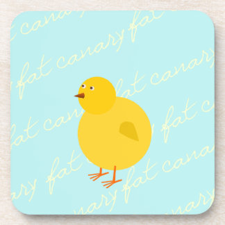 The Fat Canary Drink Coasters
