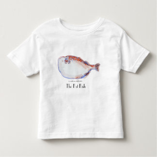The Fat Fish in Watercolor Toddler T-shirt