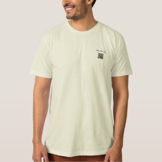 The Fat vegan Chef promotion t-shirt