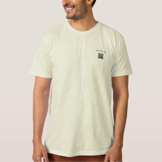 The Fat vegan Chef promotion t-shirt eng y esp