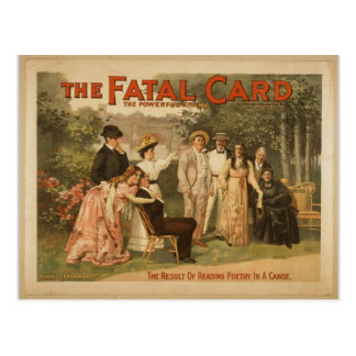 The Fatal Card Post Card