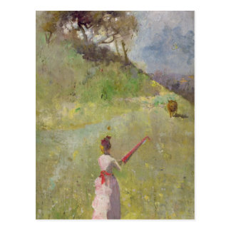 The Fatal Colour Postcard