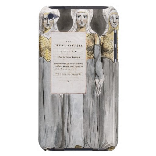 The Fatal Sisters, design 67 from 'The Poems of Th iPod Touch Case-Mate Case