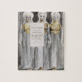 The Fatal Sisters, design 67 from 'The Poems of Th Jigsaw Puzzle