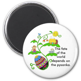 The Fate of the World 2 Inch Round Magnet