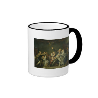 The Father's Curse or The Ungrateful Son, 1777 Ringer Coffee Mug