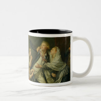 The Father's Curse or The Ungrateful Son, 1777 Coffee Mug