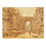 The Faubourg and the Porte Saint-Denis, 1801 Post Card