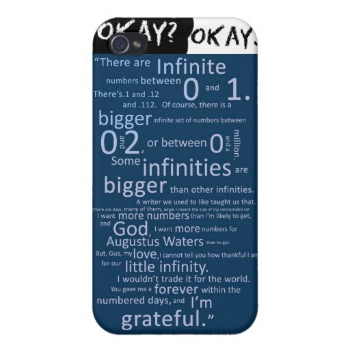 The Fault in our stars iPhone 4 Covers