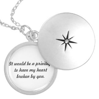 The Fault in Our Stars Locket