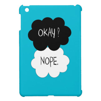 The Fault In Our Stars Okay Parody iPad Mini Cases
