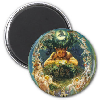 The Faun and the Fairies Magnet