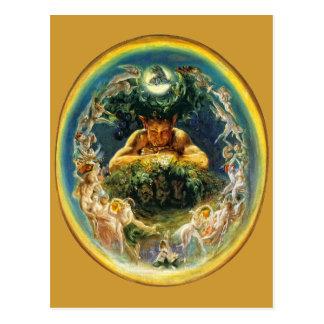 The Faun and the Fairies PostCard