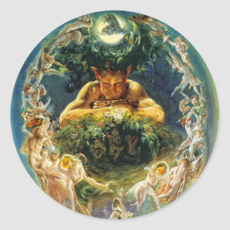The Faun and the Fairies Stickers