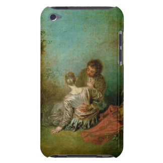 The Faux Pas, c.1717 (oil on canvas) Barely There iPod Case