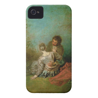 The Faux Pas, c.1717 (oil on canvas) Case-Mate iPhone 4 Case