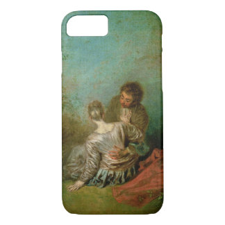 The Faux Pas, c.1717 (oil on canvas) iPhone 7 Case