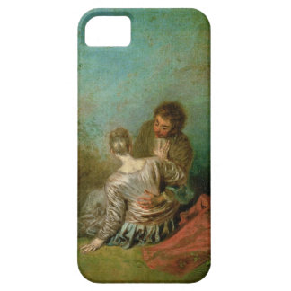 The Faux Pas, c.1717 (oil on canvas) iPhone SE/5/5s Case