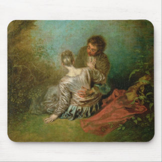 The Faux Pas, c.1717 (oil on canvas) Mouse Pad