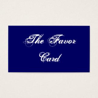 The Favor Card