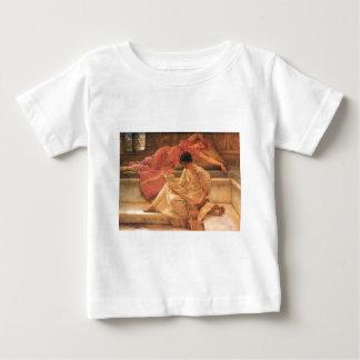 The Favorite Poet Lawrence Alma-Tadema 1888 Baby T-Shirt