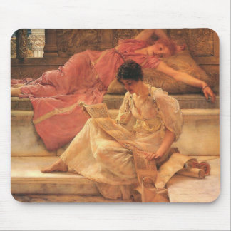 The Favorite Poet Lawrence Alma-Tadema 1888 Mouse Pad